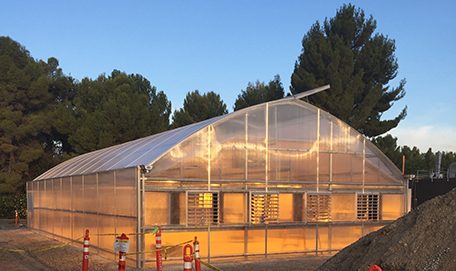 The LLNL greenhouse