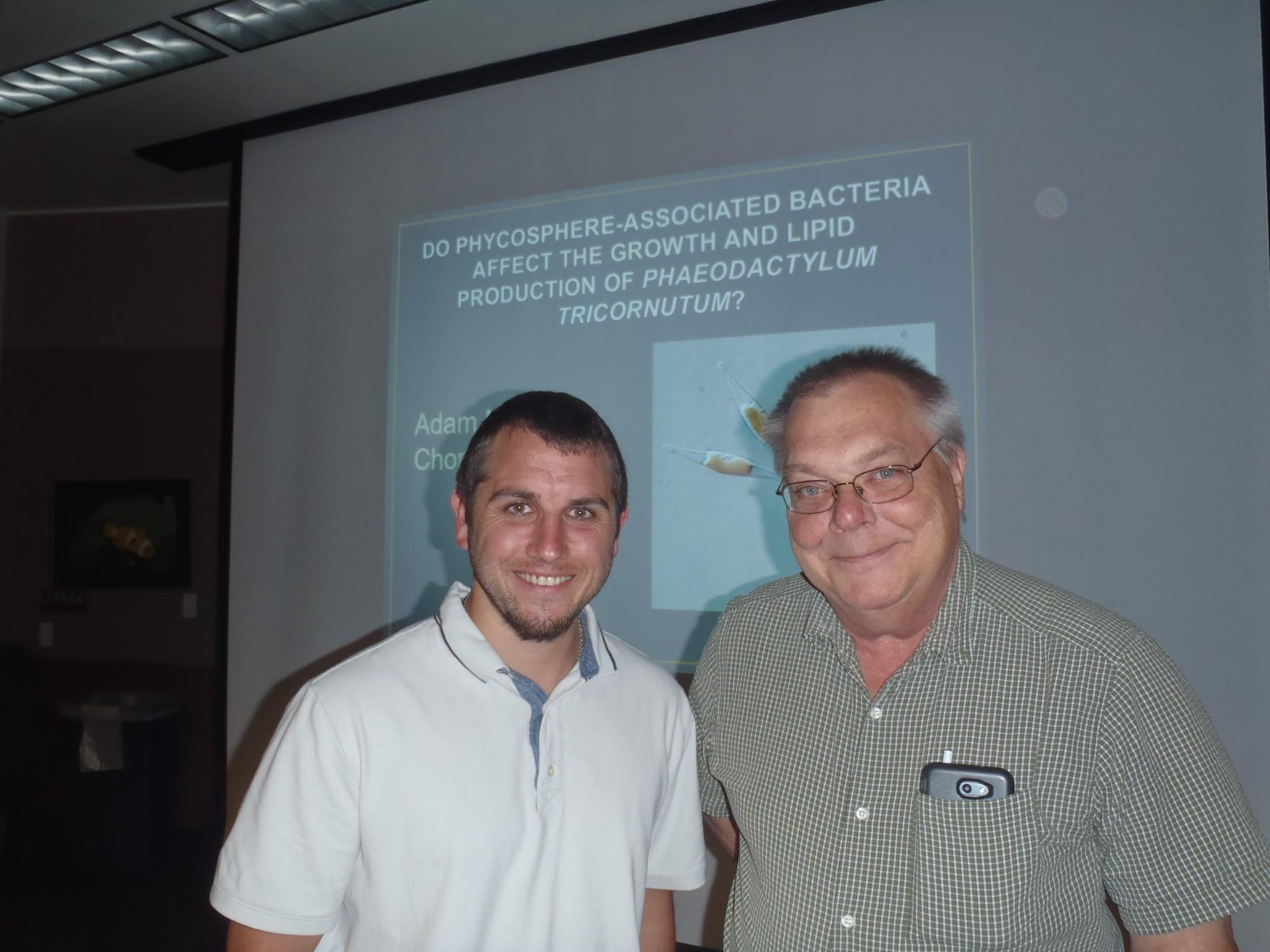 Adam Chorazyczewski and Paul Zimba